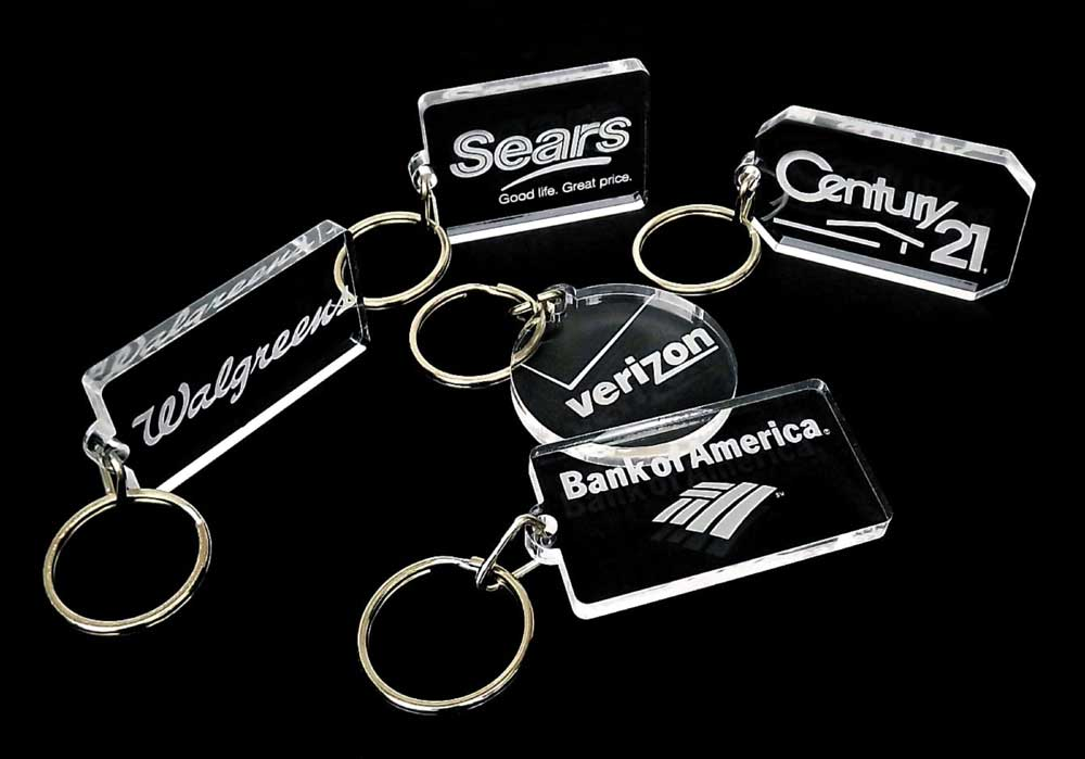 laser engraved key chains