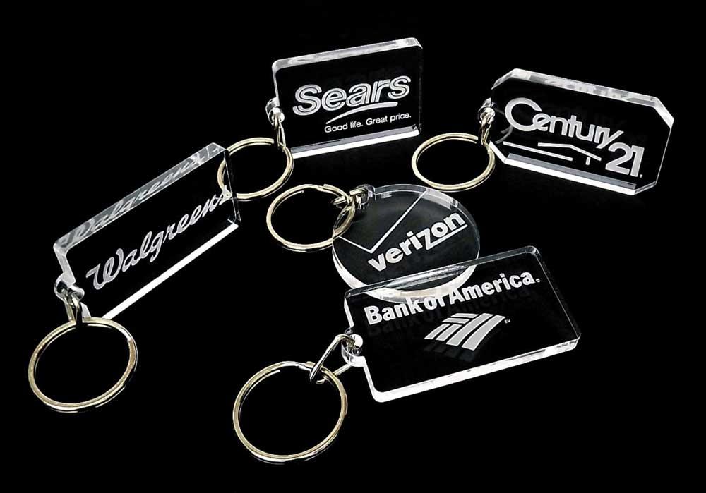 New Laser Engraved Key Chains - KT06